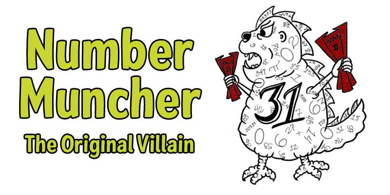 Number Muncher Original Small Biz Villain