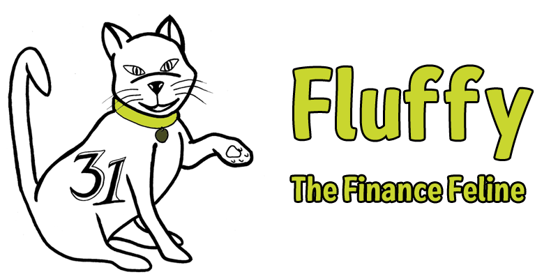 Fluffy the Finance Feline Mascot