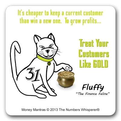Fluffy the Finance Feline #MoneyMantra