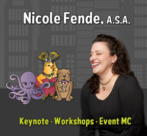 Nicole Fende Keynote Workshops Event MC